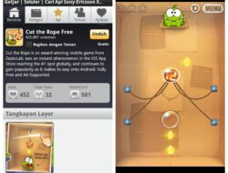 Game Android Gratis: Cut the Rope
