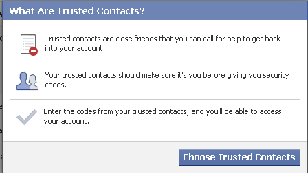 Trusted Contacts Facebook - rasarab