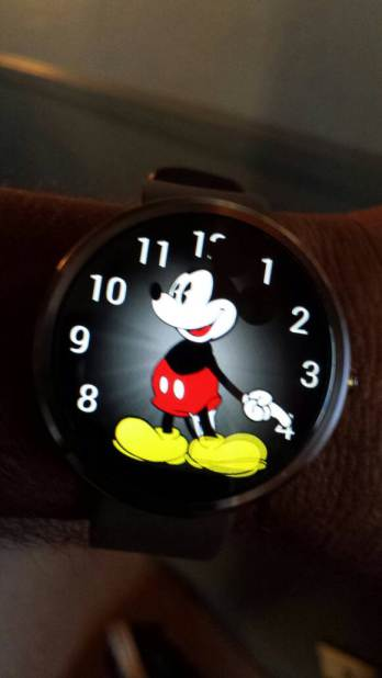 Mickey Mouse Android Wear