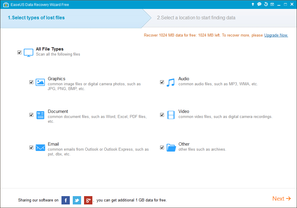 Data Recovery Wizard Free